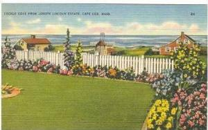 Cockle Cove from Joseph Lincoln Estate, Cape Cod, Massachusetts, 30-40s