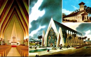 Hawaii Waikiki St Augustine By The Sea Church 1979