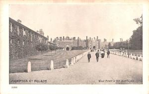 United Kingdom, Great Britain, England West Front and Old Barracks, Hampton C...