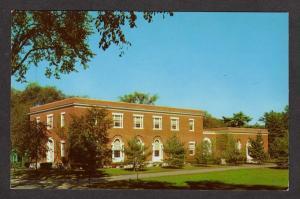 ME Sills Hall Smith Auditorium Bowdoin College Brunswick Maine Postcard PC