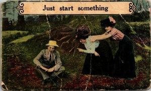 LOVERS, JUST START SOMETHING SABINA OHIO/ FITZPATRICK 1911/KENTON - pc