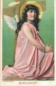Angel - Vintage Postcard - FAITH 03.45