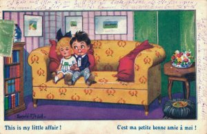 This is my little affair! Donald McGill Comic Postcard 06.34