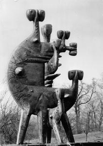 Muenchen Denkmal Statue Monument