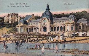 LE HAVRE, Seine Maritime, France, 1900-1910s; The Casino, Le Casino, Vu De La...