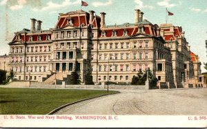 Washington D C United States State War and Navy Building