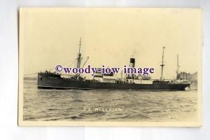 pf0233 - United Africa Co Cargo Ship - Nigerian , built 1925 sunk 1941  postcard