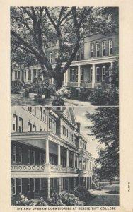 FORSYTH , Georgia , 1900-10s ; Tift & Upshaw Dormitories at Bessie Tift College