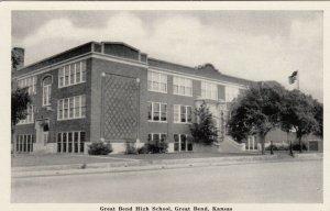 GREAT BEND , Kansas, 20-40s ; Great Bend High School
