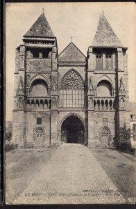 E'glise Notre Dame,Le Mans,France BIN