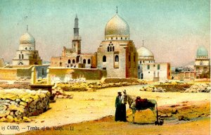 Egypt - Cairo. Tombs of the Kalifs