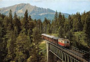 BG33351 mariazellerbahn  kuhgrabenbrucke  austria train railway