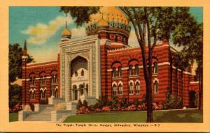 Wisconsin Milwaukee The Tripoli Temple Shrine Mosque Dexter Press