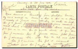 Old Postcard Guinea Conakry saw the water castle