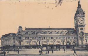Paris , France, PU-1911 ; La Gare de l'von