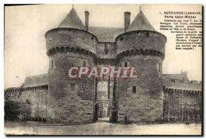 Postcard Old Guerande St. Michael's Gate