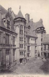 BOURGES, Cour du Palais Jacques Coeur, Cher, France, 00-10s