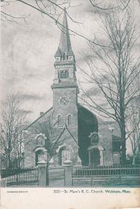St. Mary's R. C. Church, WALTHAM, Massachusetts, 1900-1910s
