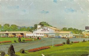 Wallingford Connecticut~Yale Motor Inn~1960 Postcard