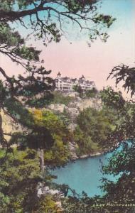 New York Ulster County Cliff House 150 Feet Above Lake Minnewaska Albertype