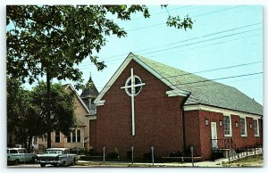 Postcard DE Rehoboth Beach Epworth Methodist Church D11