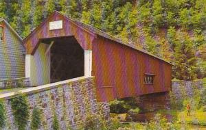 Pennsylvania Bucks County Old Covered Bridge Uhlerstown