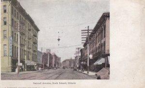 ROCK ISLAND , Illinois , 1900-10s; Second Avenue
