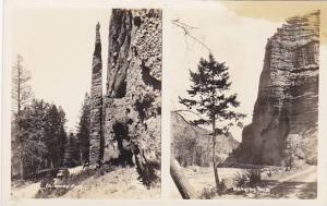 RP, 2-Views, Chimney Rock, Hanging Rock, North Carolina, 1920-1940s