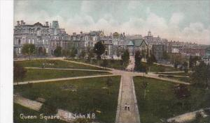 Canada New Brunswick St John Queen Square 1908