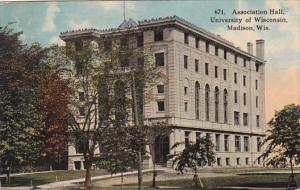 Association Hall, University Of Wisconsin, Madison, Wisconsin, PU-1915