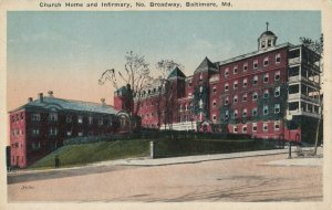 BALTIMORE, Maryland, 1900-1910s ; Church Home & Infirmary