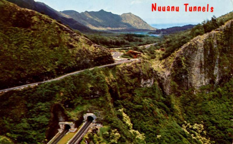 HI - Nuvanu Tunnels, Old Pali Road