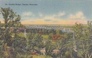 Nebraska Omaha South Omaha Bridge