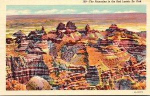 South Dakota Bad Lands The Pinnacles Curteich