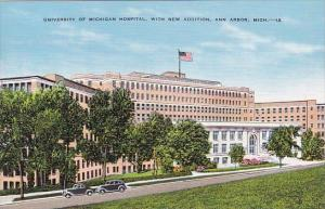 University Of Michigan Hospital With New Addition Ann Arbor Michigan
