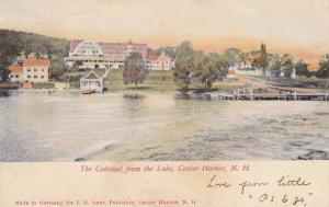 The Colonial From The Lake, Center Harbor, New Hampshire, PU-1907