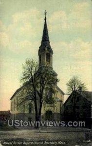 Market St. Baptist Church - Amesbury, Massachusetts MA