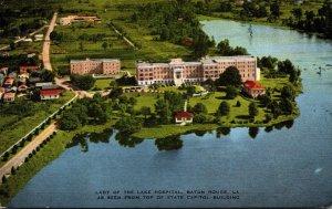 Louisiana Baton Rouge Lady Of The Lake Hospital Aerial View 1949