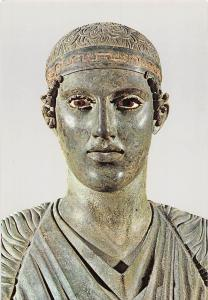Museum of Delphi The Charioteer, L'Aurige Musee de Delphes