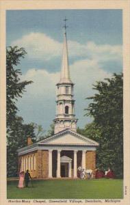 Michigan Dearborn Martha Mary Chapel Greenfield Village Curteich