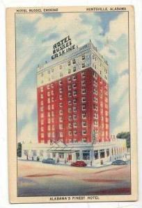 Hotel Russel Erskine, Huntsville, Alabama, 30-40s