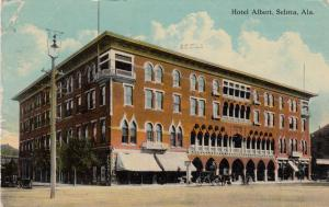 SELMA , Alabama, PU-1912 ; Hotel Albert
