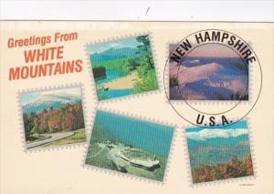 New Hampshire Greetings From The White Mountains Multi View