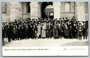 Hillsdale Michigan~Booster Club~Business Mens Association Group~1909 CU Williams
