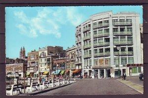 P1474 vintage unused postcard view malta-the strand-sliema, agfacolor card