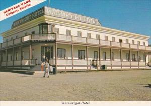 Canada Calgary Wainwright Hotel Heritage Park