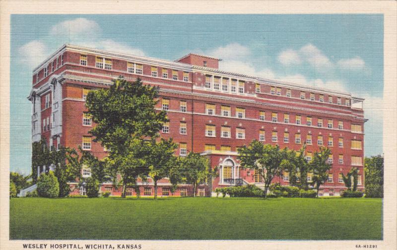 Wesley Hospital, WICHITA, Kansas, 30-40s