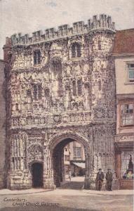 CANTERBURY, England, 1900-1910´s; Christ Church Gateway