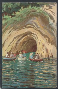 Italy Postcard - Capri - Entrata, Grotto Azzurru   T10203