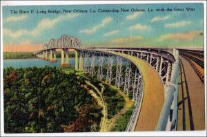 Huey P Long Bridge, New Orleans LA